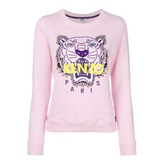 Kenzo Embroidered Tiger Sweatshirt Pink