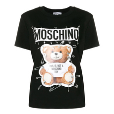 Moschino Safety Pin Teddy T-Shirt Black