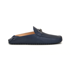 Tod'S Gommino Driving Men's Slip-ons Dark Blue