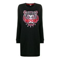 Kenzo Tiger Jumper Dress Black