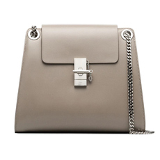 Chloe Medium Annie Shoulder Bag Motty Grey