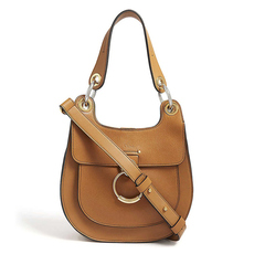 Chloe Tess Hobo Shoulder Bag Autumnal Brown