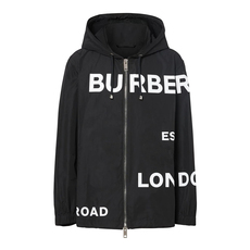 Burberry Horseferry Print Jacket Black