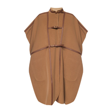 Burberry Harness Detail Cloak Camel/Homey