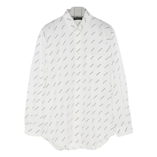 Balenciaga Normal Fit Shirt White/Black