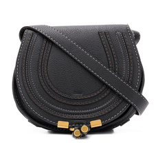 Chloe Mini Marcie Crossbody Bag Black