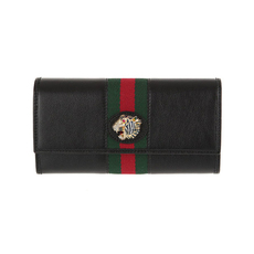 Gucci Rajah Long Wallet Black