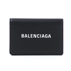 Balenciaga Everyday Mini Card Holder Black