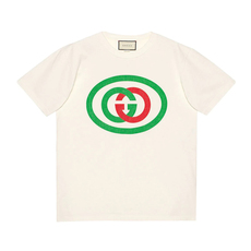 Gucci Oversized With Interlocking G T-Shirt White