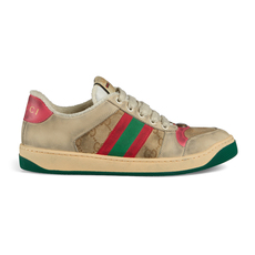 Gucci Screener Leather Women's Sneakers Butter