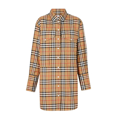 Burberry Vintage Check Shirt Antique Yellow