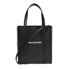 Balenciaga Everyday Shoulder Bag Black