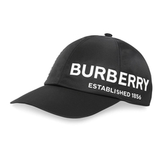 Burberry Horseferry Print Baseball Cap Black