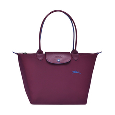 Longchamp Le Pliage Small Shoulder Bag Plum