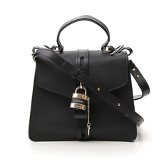 Chloe Medium Aby Day Shoulder Bag Black