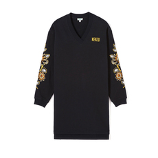 "Kenzo ""Passion Flower"" Sweater Black"