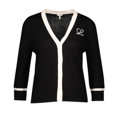 Loewe Embroidered Cardigan Black