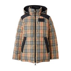 Burberry Reversible Vintage Check Down Jacket Archive Beige
