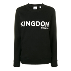 Burberry Kingdom Print Sweatshirt Black