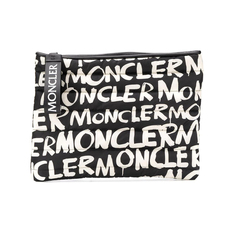 Moncler Graffiti Gm Clutch Bag Black/White