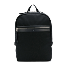 Saint Laurent Laptop City Backpack Black
