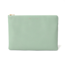 Celine Clutch Bag Green