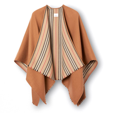 Burberry Icon Stripe Detail Wrap Brown