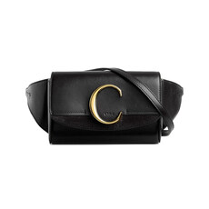 "Chloe ""C"" Belt Bag Black"