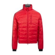 Canada Goose Lodge Matte Finish Down Jacket Red