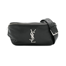 Yves Saint Laurent Claccic Monogram Belt Bag Black