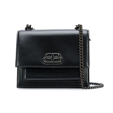 Balenciaga Sharp S Crossbody Bag Black