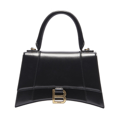 Balenciaga Hourglass Small Crossbody Bag Black