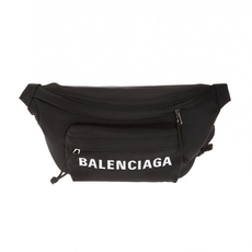 Balenciaga Wheel Belt Bag Black