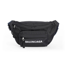 Balenciaga Wheel S Belt Bag Black