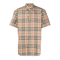 Burberry Vintage Check Cotton Shirt Archive Beige