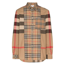 Burberry Vintage Check Multi-Pattern Shirt Archive Beige