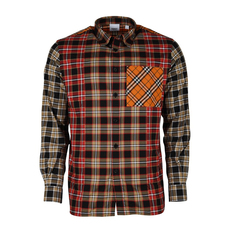 Burberry Vintage Check Multi-Pattern Shirt Multicolor