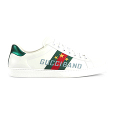 Gucci Ace With Gucci Band Men's Sneakers White