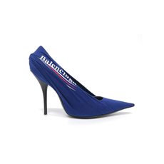 Balenciaga Knife Pumps Women's Heels Blue