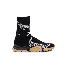 Vetements Metal Sock Men's Sneakers Black/White
