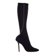 Vetements Lycra Women's Boots Black