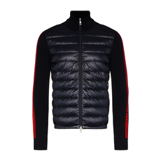 "Moncler ""Lined Jumper"" Down Jacket Dark Blue"