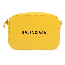 Balenciaga Everyday Camera Xs Crossbody Bag Yellow