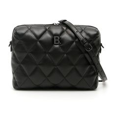 Balenciaga B. Camera Shoulder Bag Black