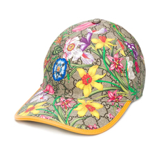 Gucci Gg Flora Baseball Cap Multicolor