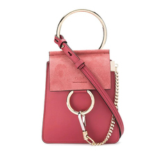 Chloe Faye Small Bracelet Crossbody Bag Pink