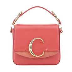 Chloe Mini Chloé C Crossbody Bag Pink