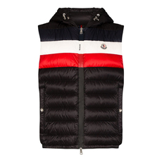 "Moncler ""Timothe"" Down Vest Black"