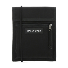 Balenciaga Explorer Crossbody Bag Black