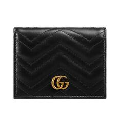 Gucci GG Marmont Card Holder Black